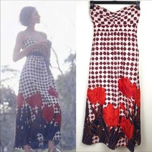 Anthropologie-Maeve-Stunning Floral Maxi Dress